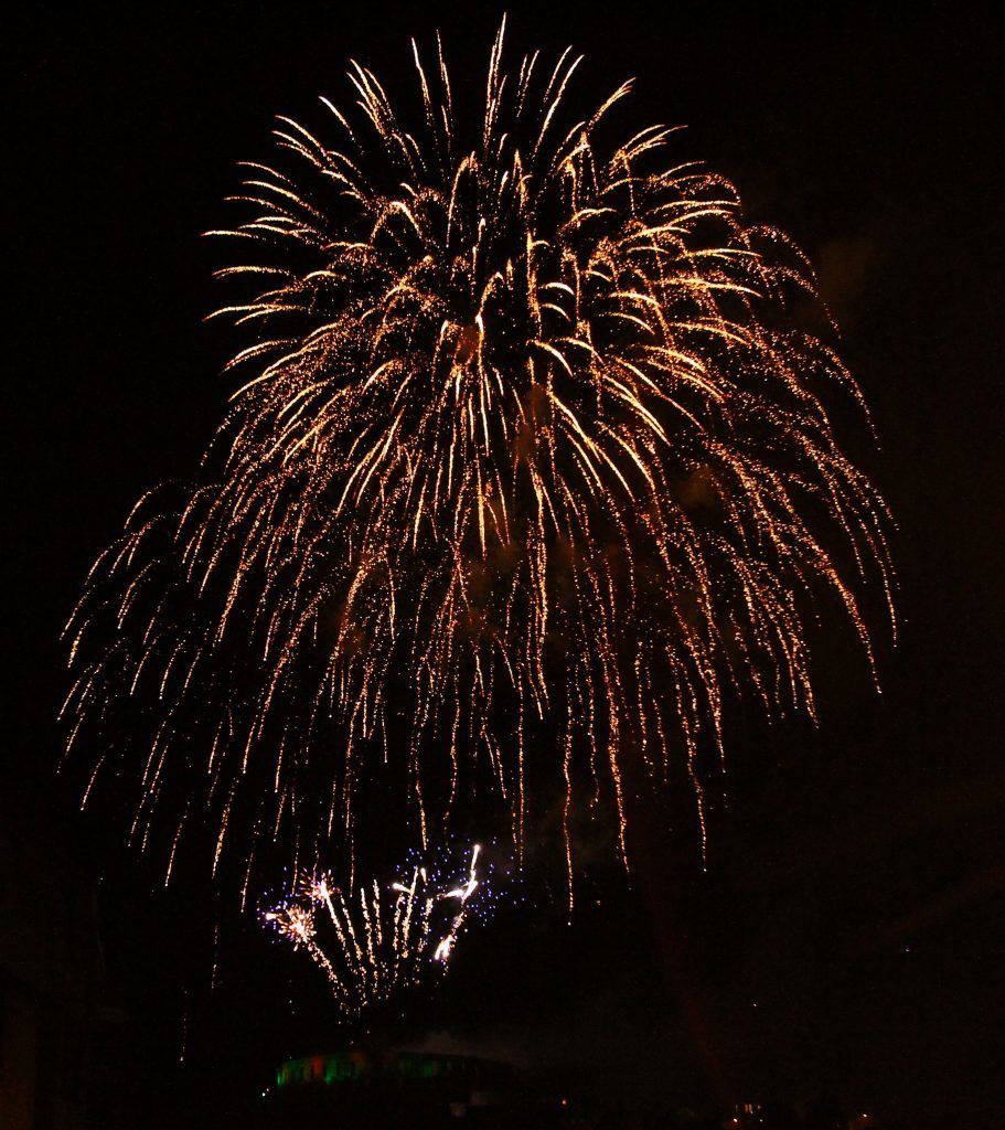 Fireworks will light up the night sky in Lorhranza.