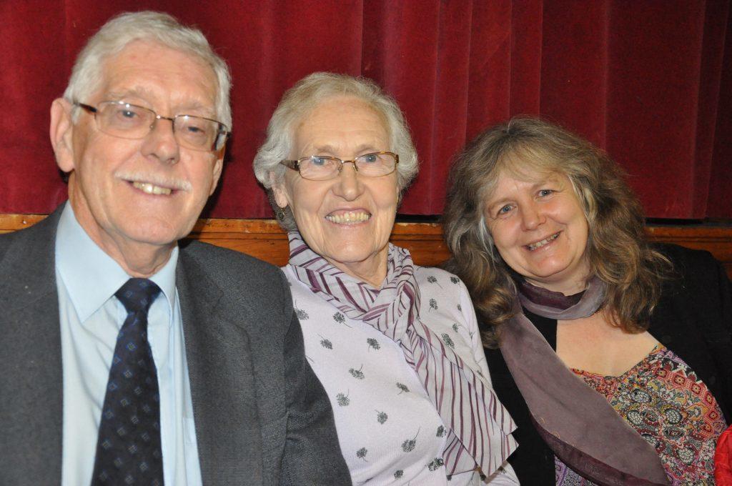 George and Sheila Macrame, Iona