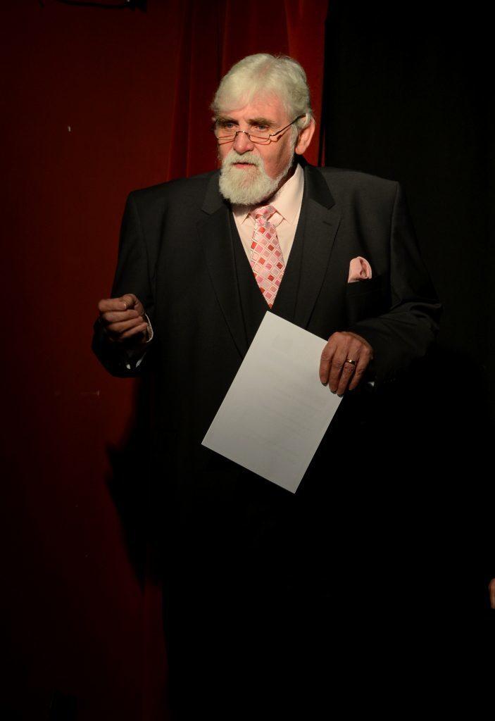 Adjudicator George Kirkpatrick.