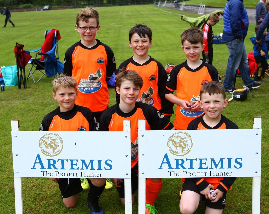 Taynuilt lost out in the final of the Alastair  Campbell Shield.