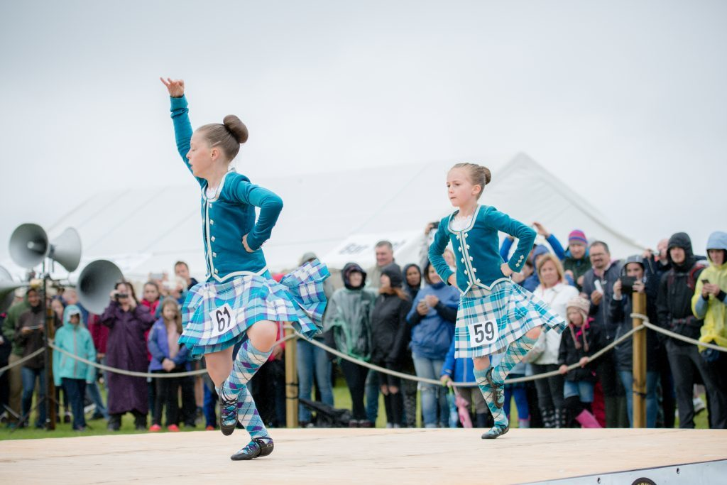 Smiles In The Rain At Arisaig Games And Clan Gathering
