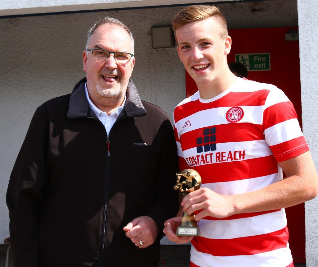 Player of the tournament was Lewis Ferguson.