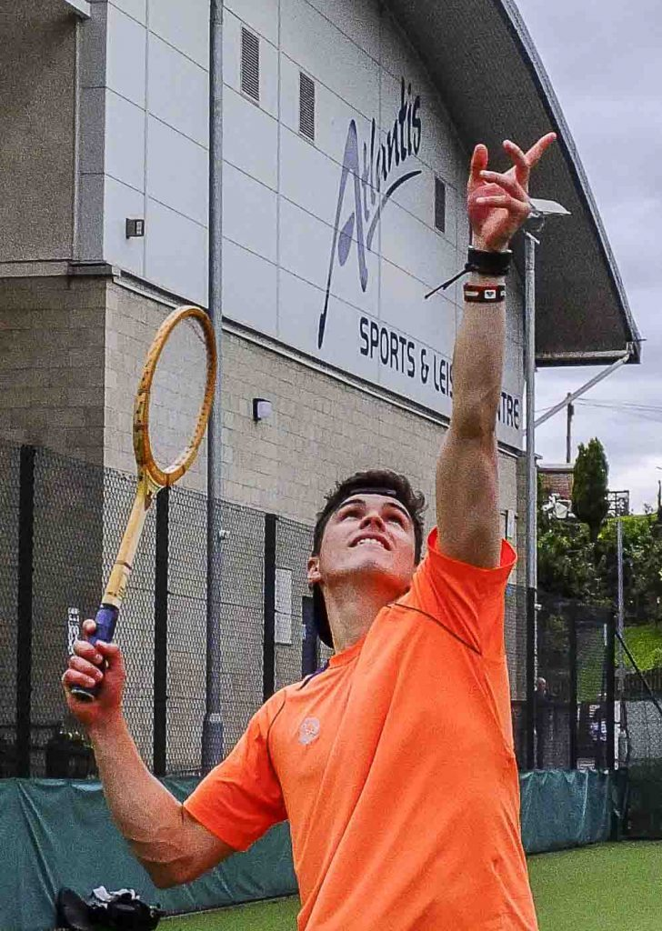 Gregor Brydon won the local gents' singles title.