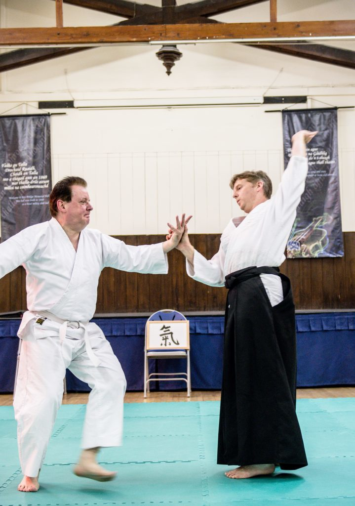 Learning how to maipulate joints is an important element of Aikido