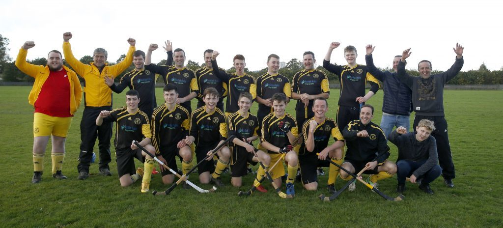 Inveraray after their 5-0 win over Glasgow Mid Argyll which clinched the Marine Harvest South Division Two championship. Photograph: Stephen Lawson.