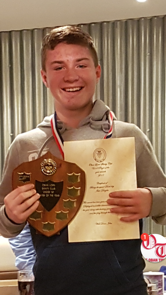 John Douglas – under 14 player of the year