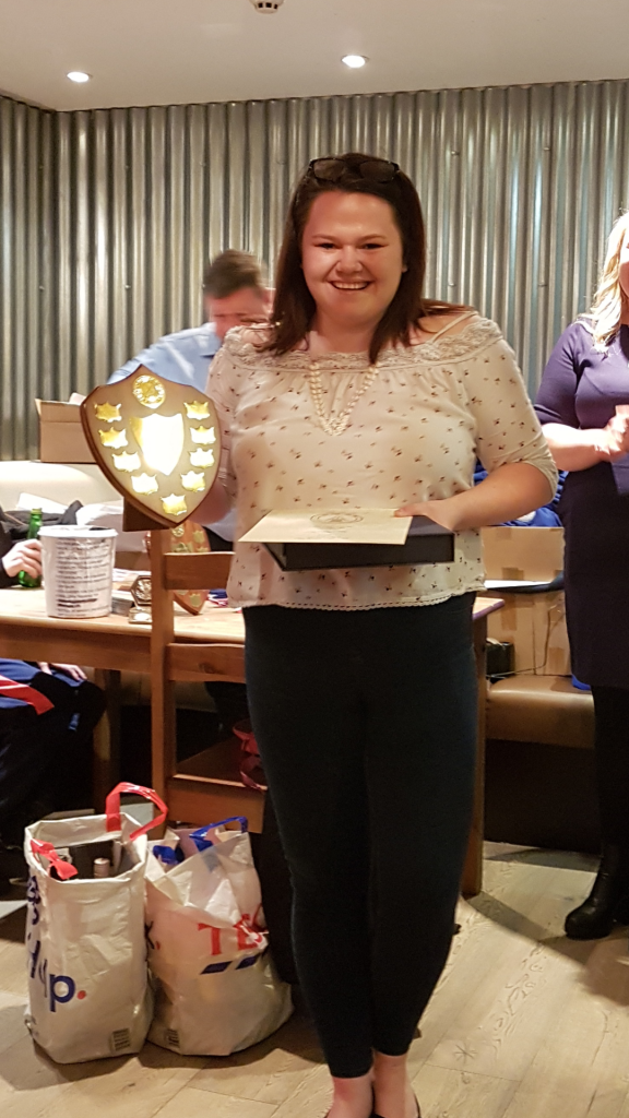 Gillian Ruth MacKenzie – ladies' most improved player.