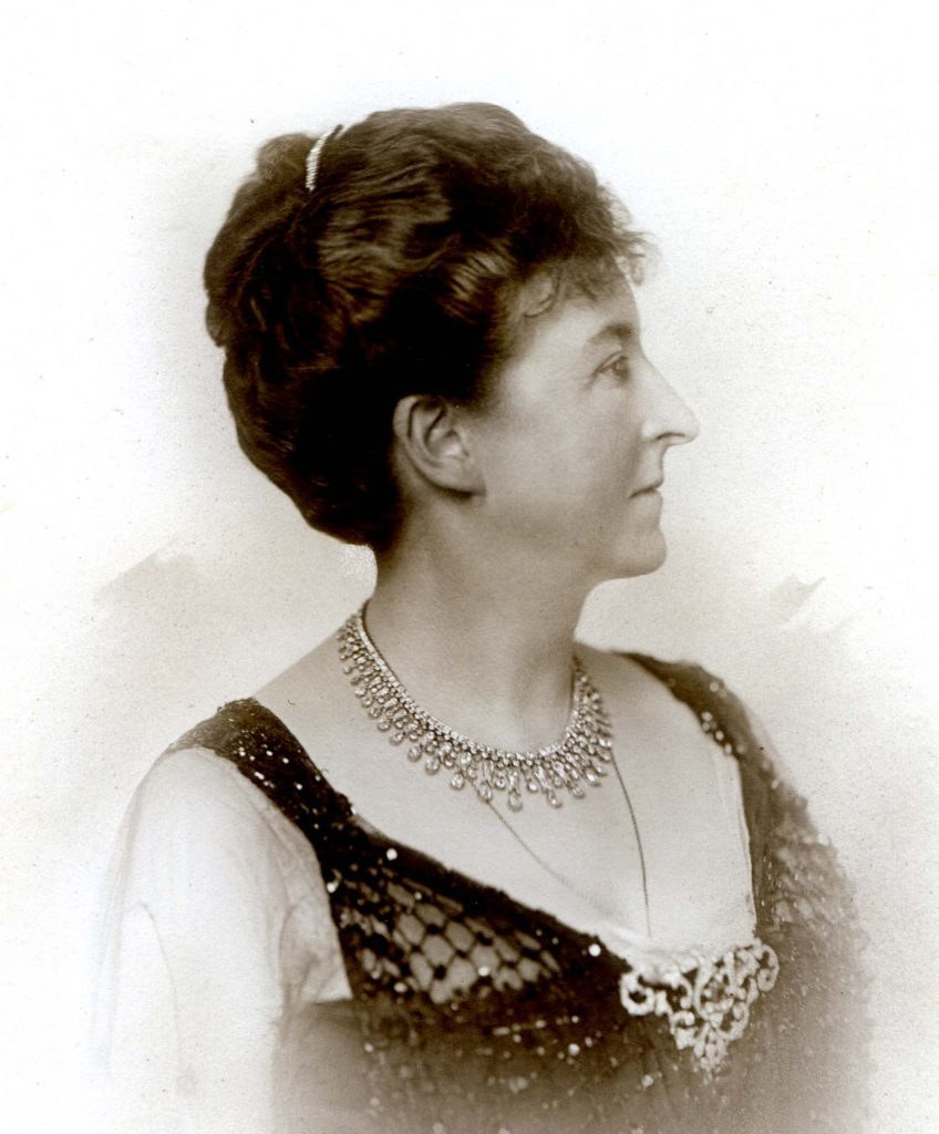 Mrs James Head, owner of Inverailort Estate, who successfully halted the West Highland line for 12 weeks. Photograph: Highland Archives, Fort William