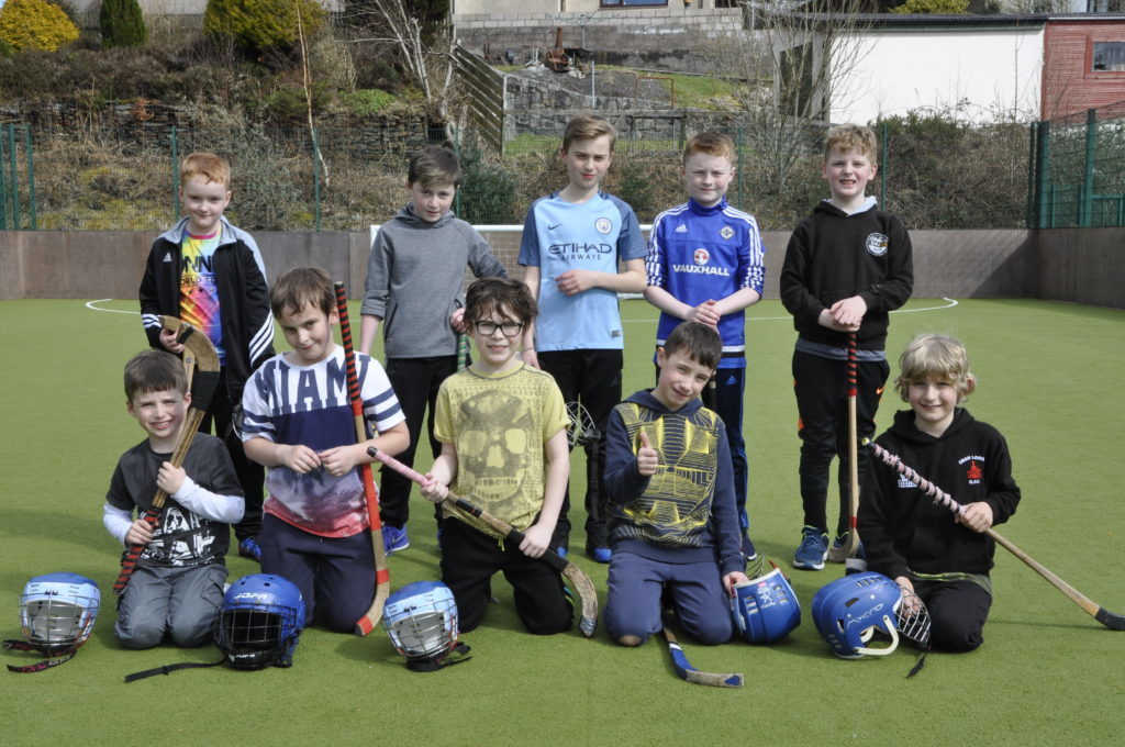 The five-day festival gave participants the opportunity to develop their shinty skills. 16_t15_Fèis01