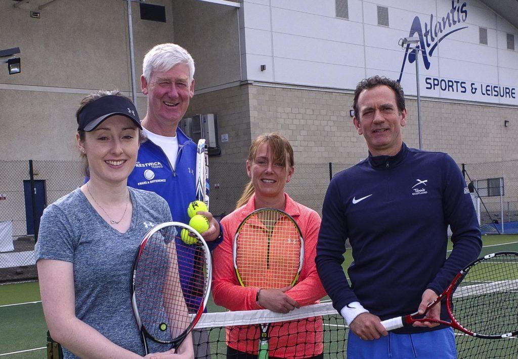 Lisa Munro, Colin Hanbidge, Jan Oliphant, and Blane Dodds