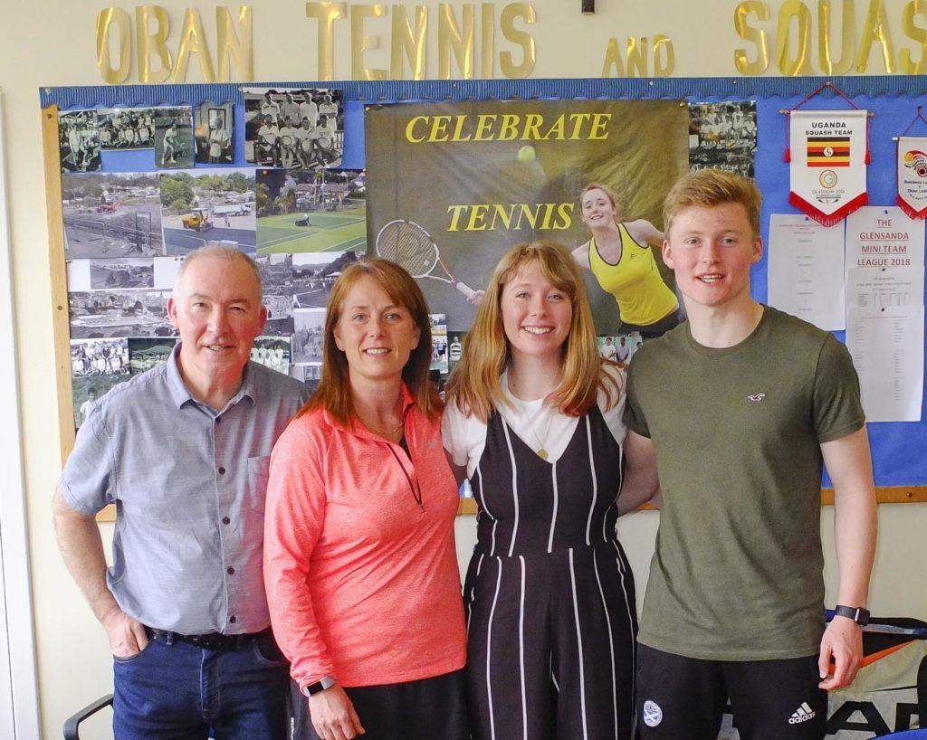 Robert, Jan, Susanne and David Oliphant