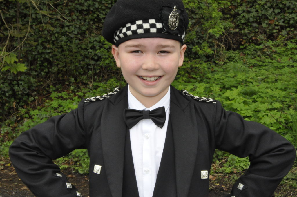 Highland dancer Andrew Gregg from Motherwell enjoyed seeing his competition friends at the festival 16_T19_HIMF07_AndrewGregg