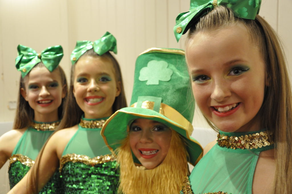 Symar School of dancers were hoping for the luck of the Irish in the choreography challenge on Friday at the Corran Halls 16_T19_HIMF11_SymarSchool