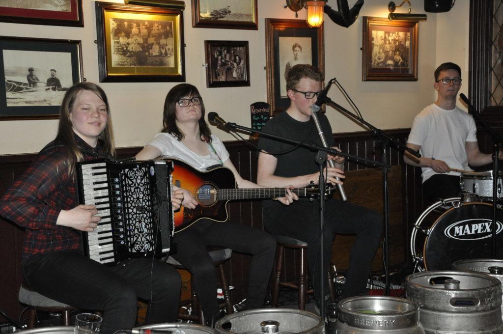 Ceilidh band Dunmor got people up on the dance floor at Markie Dans 16_T19_HIMF20_Markiedansband