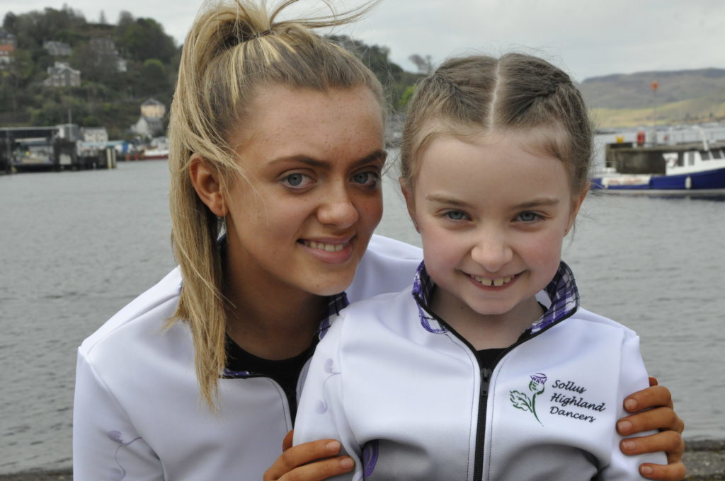 Emily Peart and Millie Magee who were with Northern Ireland's Sollus Highland Dancers 16_T19_HIMF25_emilypeartmilliemagee