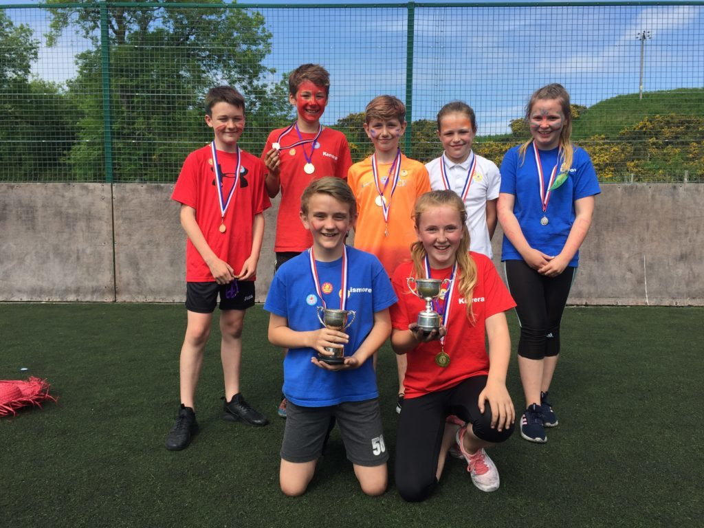 Boys and girls champions at Park Primary School sports day NO_T24_boysandgirlschamps
