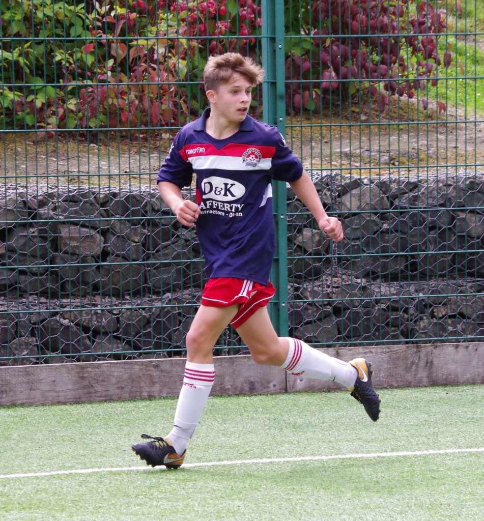 15-year-old Aaron McKay made his first-team debut for Saints.