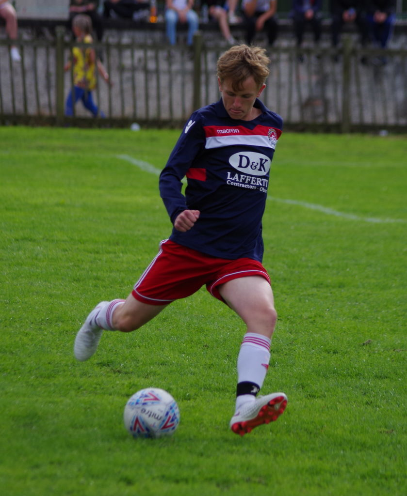 Ruaridh Horne netted a pressure penalty against Campbeltwon pupils to put Saints into the final.