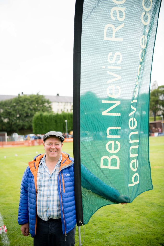 Micky Whitehead chairman for the Ben Nevis Race committee. NO F36 Ben Race 10