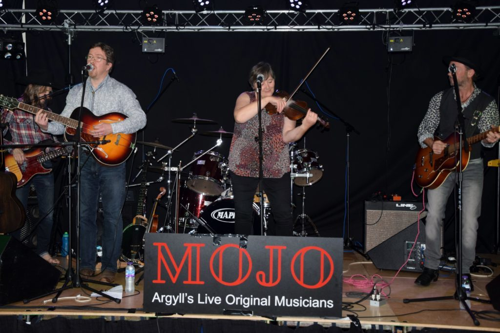 The Hollow Mountain String Band brought Americana at Argyll.