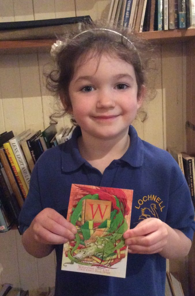 Beth won a £20 Waterstones gift voucher after coming up with The Owl and The Howl as a winning title for a book. NO_T41_Bookends01