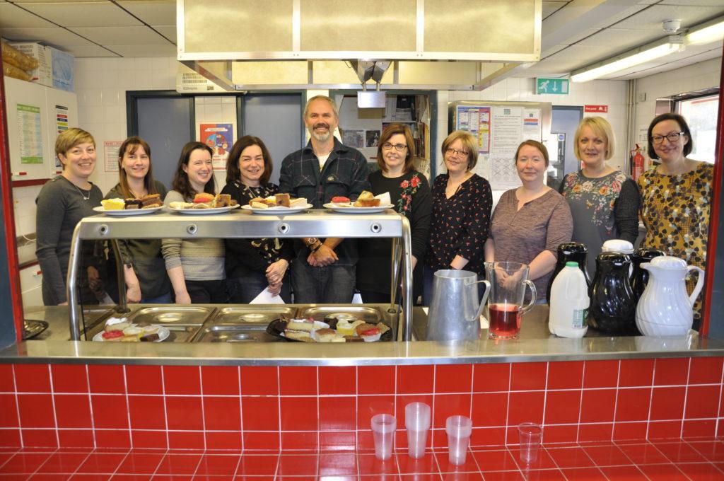 Parent council volunteers helped raise £724. 17_T46_LochnellFundraiser03