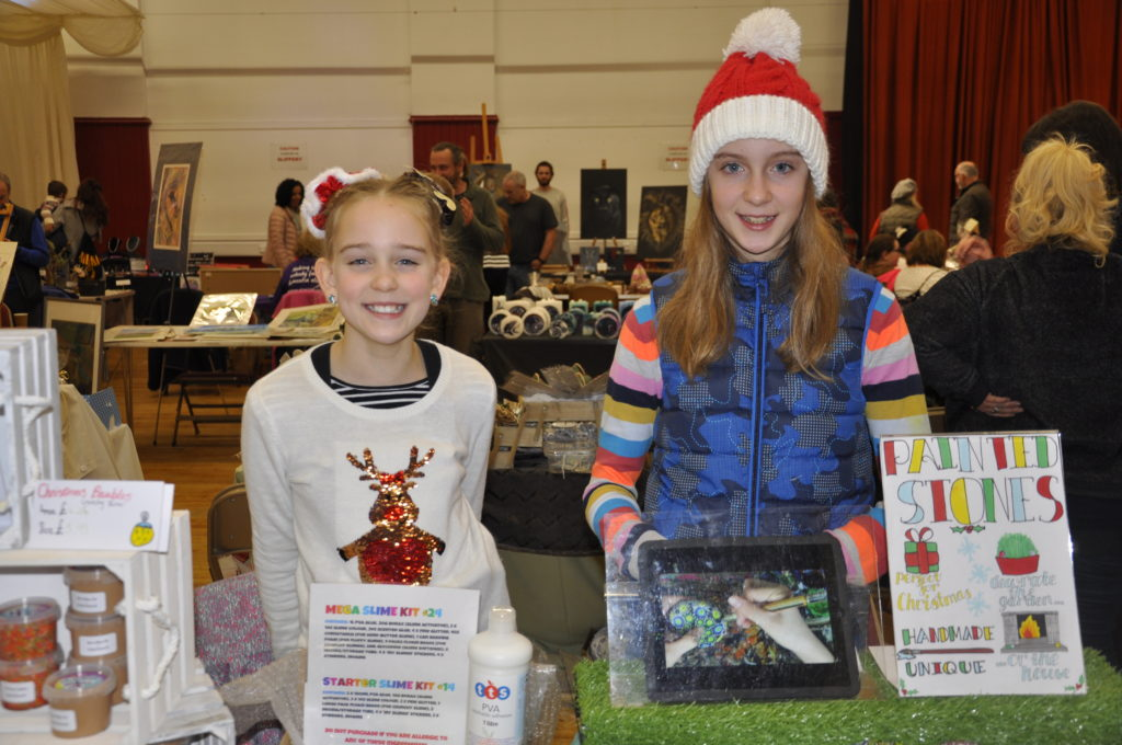Alex and Edie Edlliott were selling their products at the market in the Corran Halls on Saturday. 17_T48_WinterFestivaSaturday01