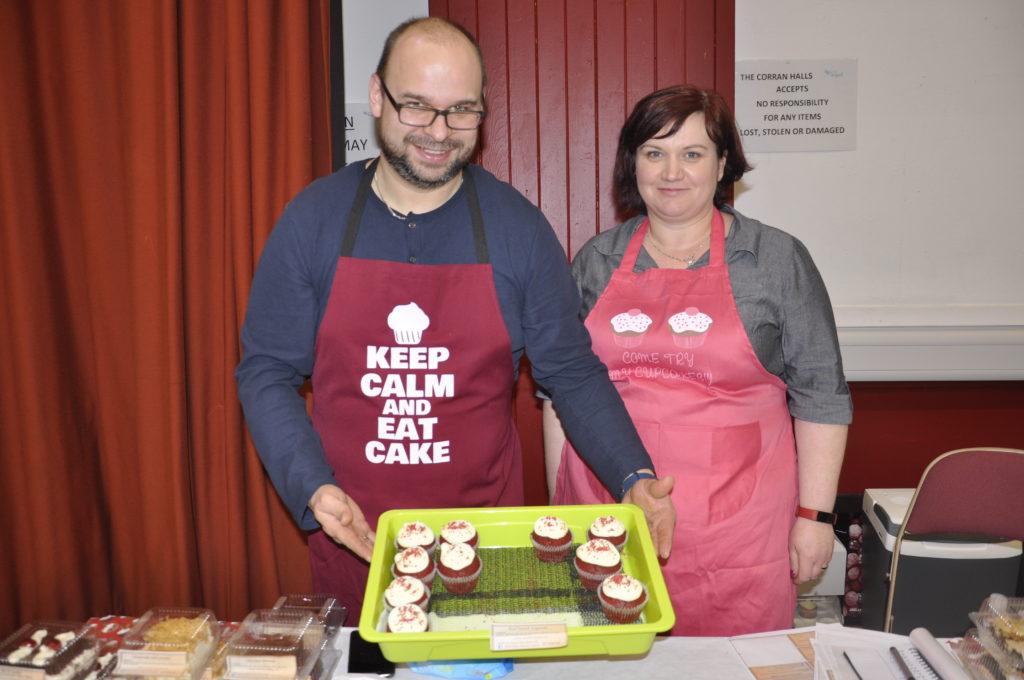 'Keep calm and eat cake' say Marek and Agnieszka Kupszak. 17_T48_WinterFestivaSaturday03