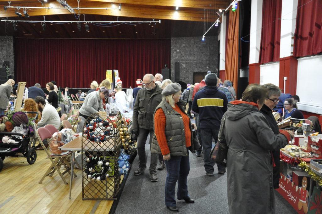 The Oban Winter Festival Market in the Corran Halls. 17_T48_WinterFestivaSaturday04