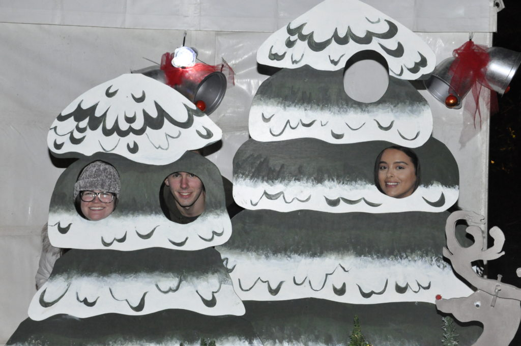 Amy Williams, Colin Oman, and Natalie Pacitti, enjoyed the Winter in the Woods event. 17_T48_WinterFestivaSaturday11