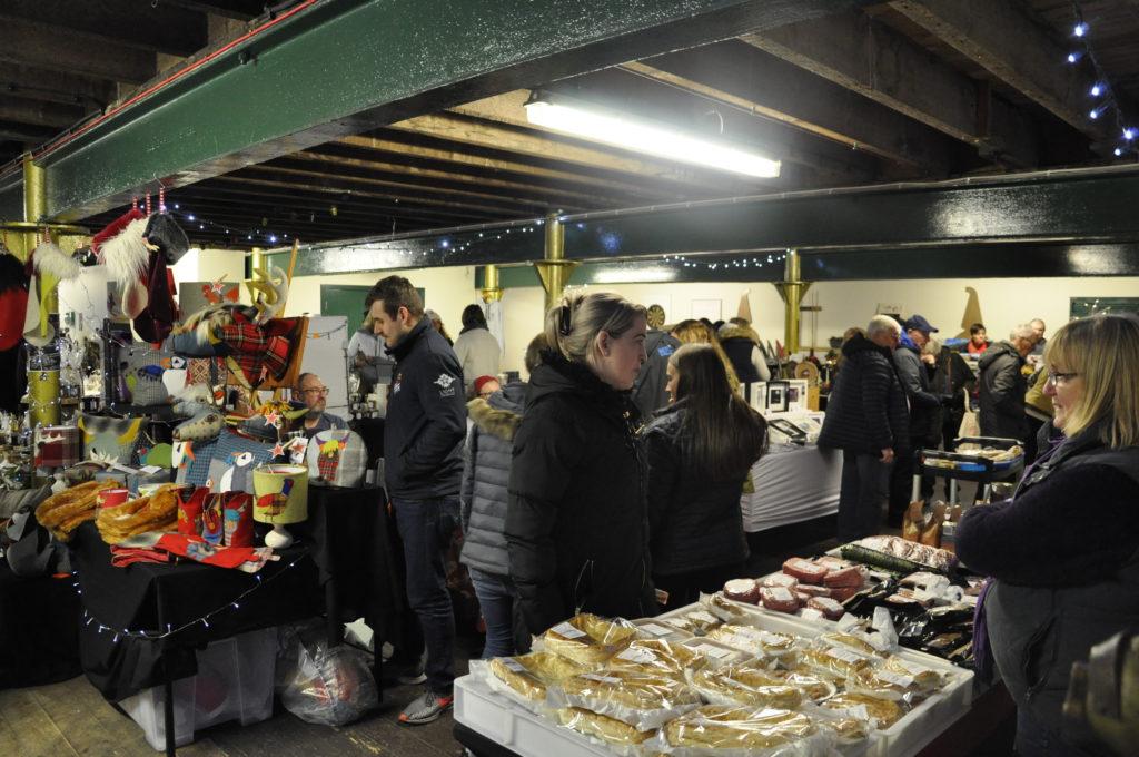 The food and craft market at Oban Distillery. 17_T48_WinterFestivaSaturday16