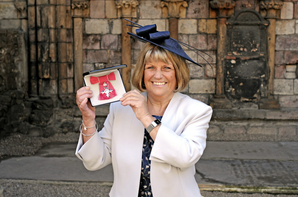Sine Macvicar MBE  Picture date: Tuesday 3 July 2013. Copyright: PA Photos NOT FOR PUBLICATION WITHOUT WRITTEN CONSENT OF PA PHOTOS : 020 7963 7305.