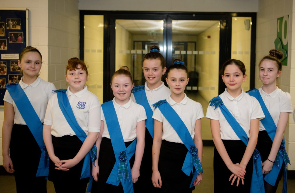 Caol Primary School country dancers won the Kilmallie Country Dance Club Trophy for endeavour.