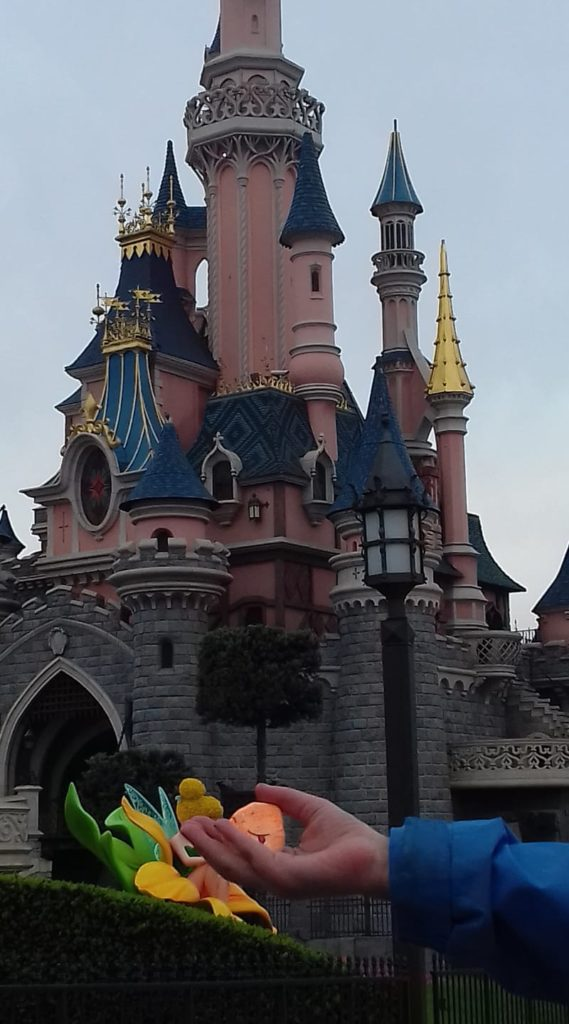 Disneyland Paris was another hiding place.