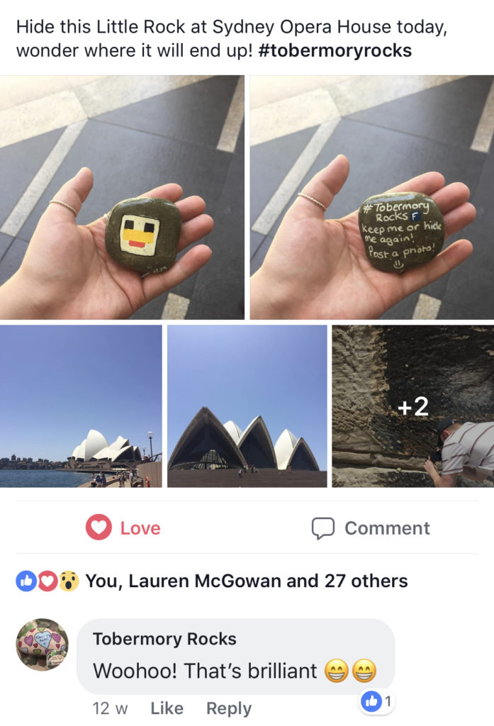 This rock travelled at least 10,535 miles from Mull to be found at Sydney Opera House.