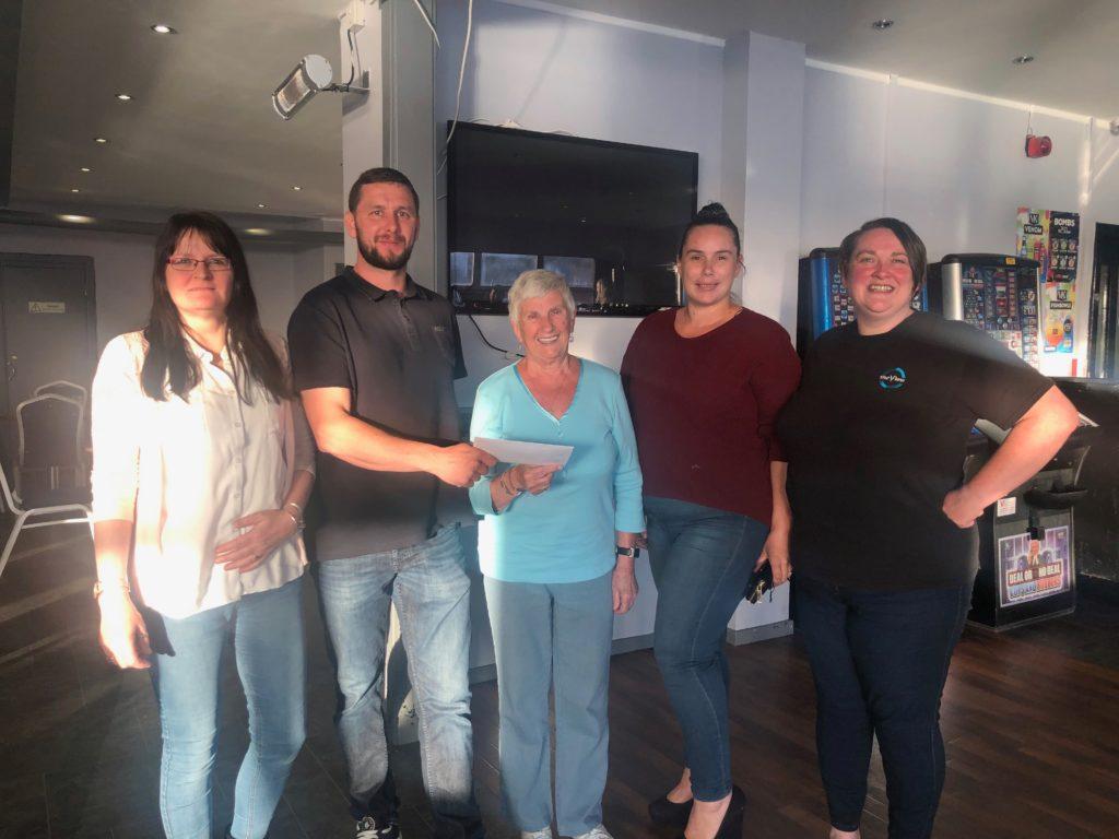 The View's bingo night raised £170 for Soroba Community Centre. t23_Bingo01