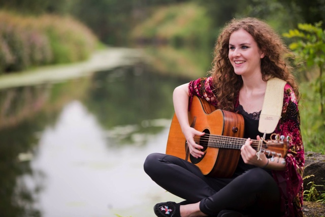Anna Leyden is a singer-songwriter originally from Belfast who grew up surrounded by Irish folk and traditional music.