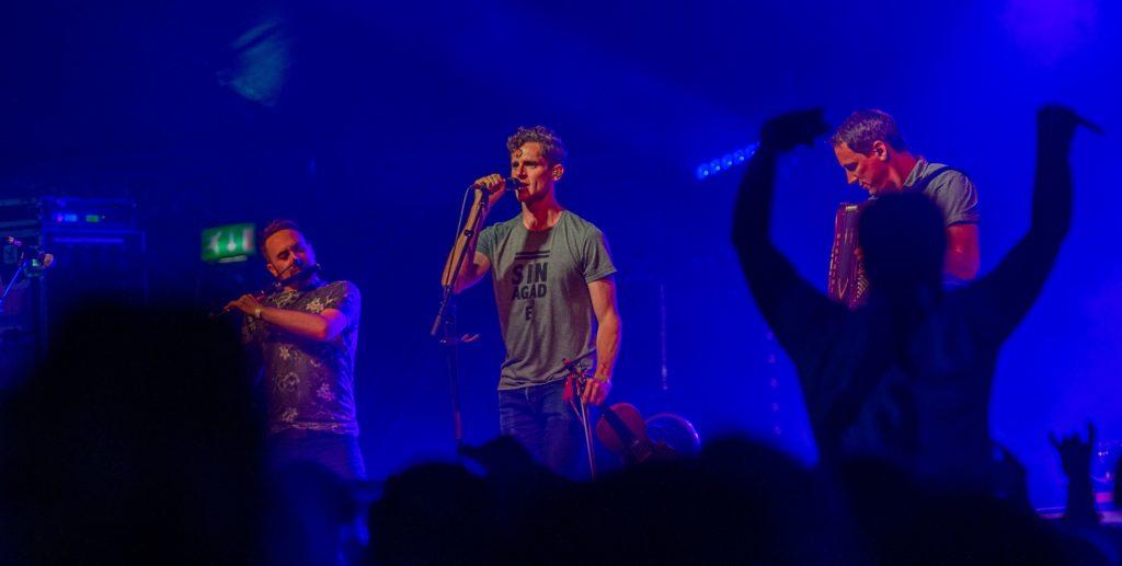 Manran got the crowd roaring at TMF. Photograph: Alan Peebles