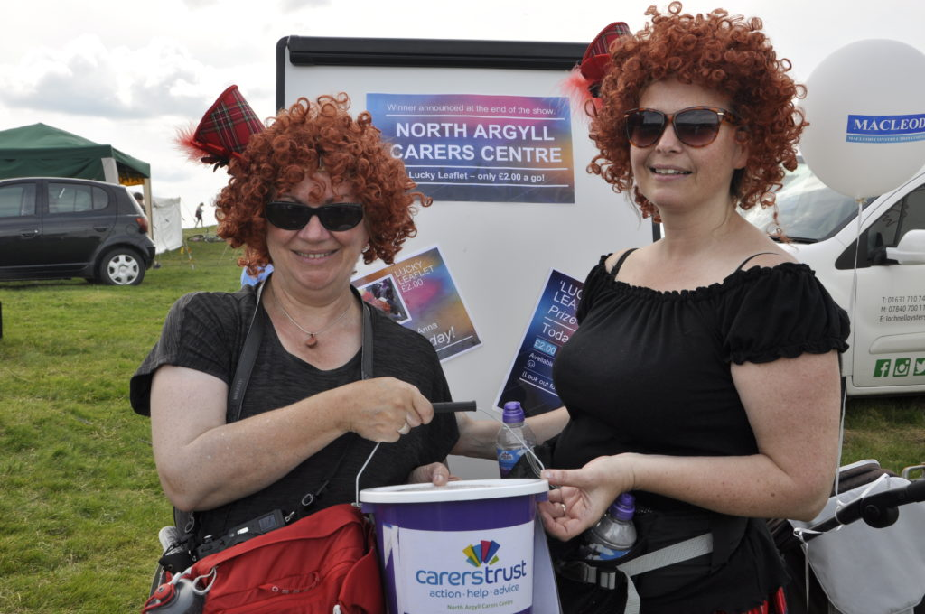 Fran and Anna from the North Argyll Carers Centre. 15_t32_LornShow10
