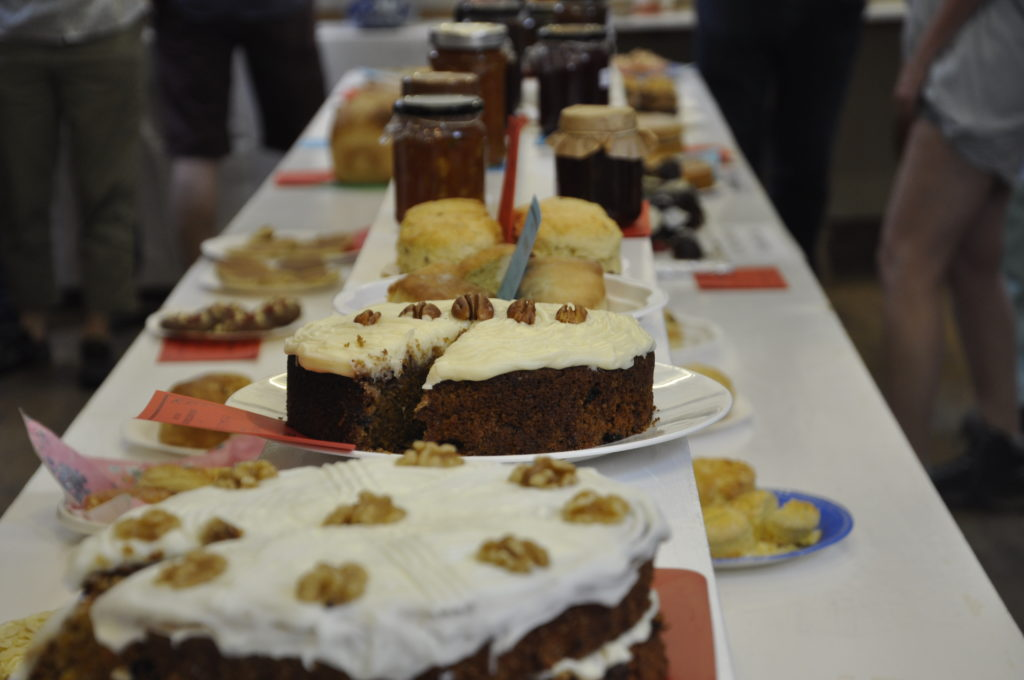 Cakes were making mouths water at Luing Horticultural Show at the weekend.