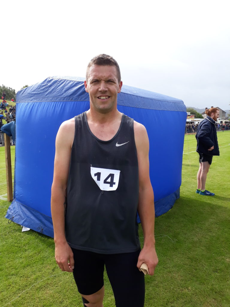 Kelso's Colin Welsh was king of the middle distance events, winning the open 400m and 800m handicap races and the 800m scratch event.
