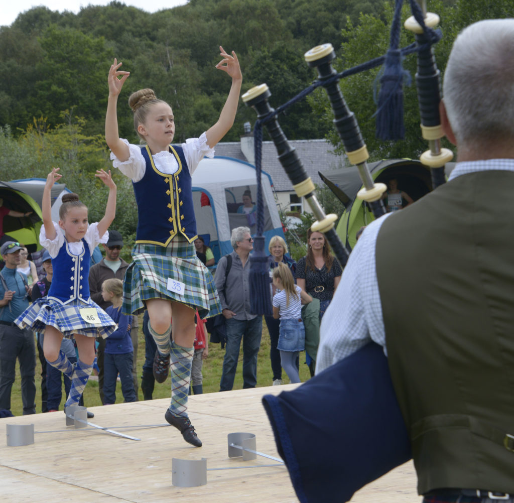 The Sword Dance is always wonderful to watch. Photograph: Iain Ferguson, alba.photos