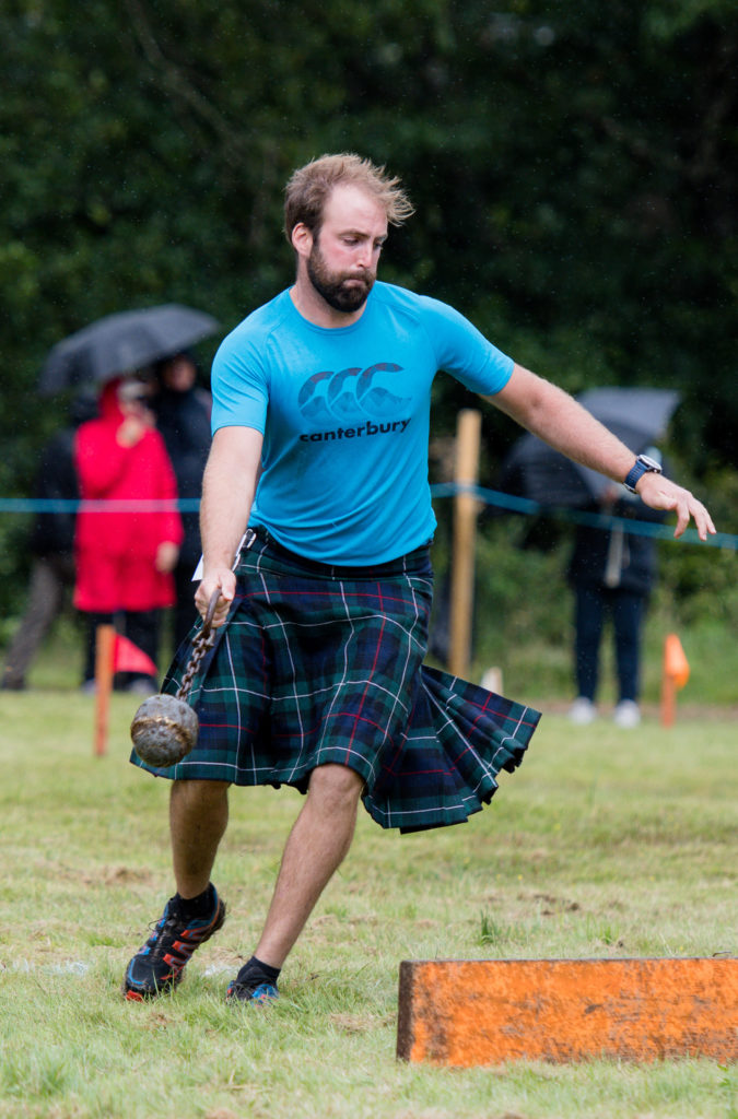 The heavy events are always popular.  NO F34 Glenfinnan games-heavy 04