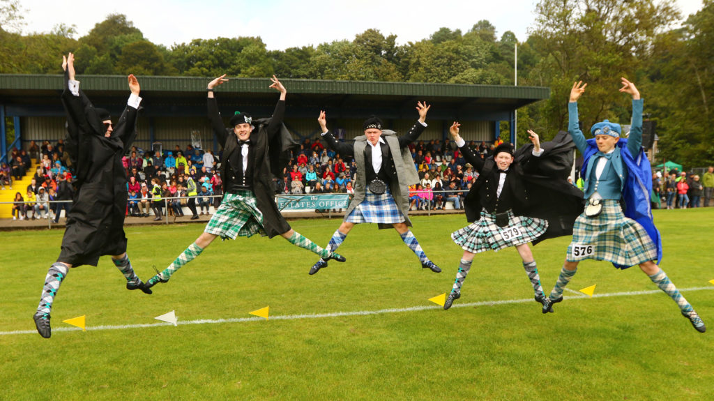 Boy dancers from Canada and Australia were delighted to be taking part in the Gathering for the first time.