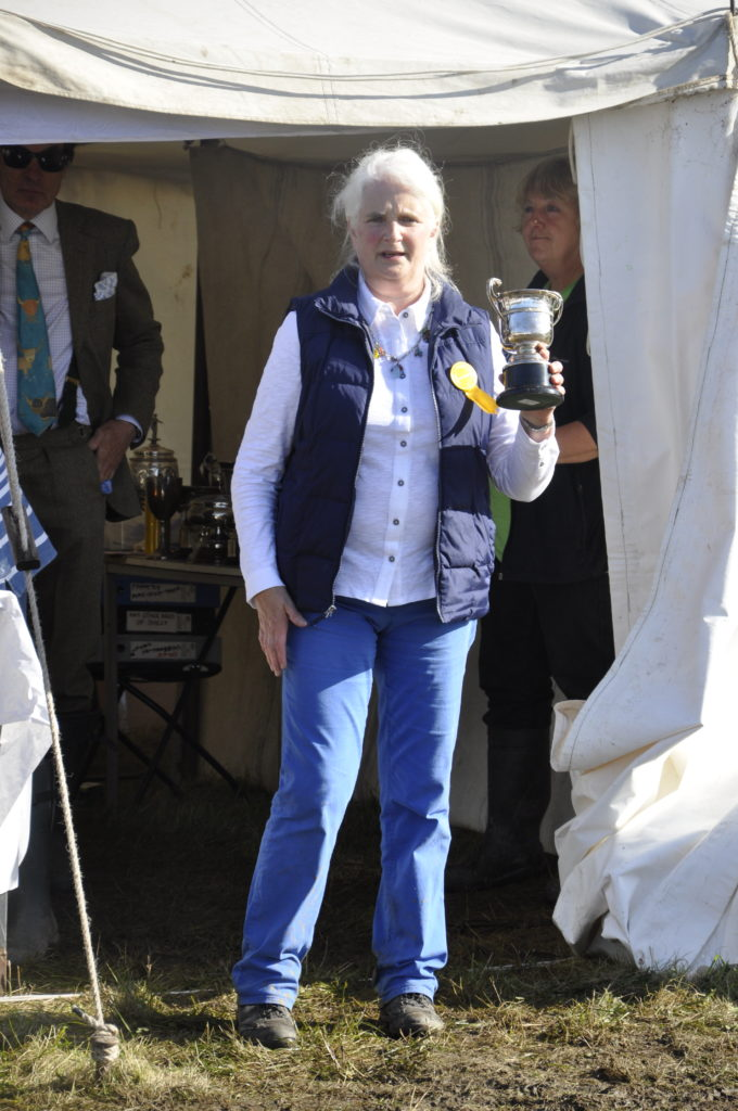 Dalmally Agricultural Society president Marjorie Walker thanked everyone who helped make the day happen.
