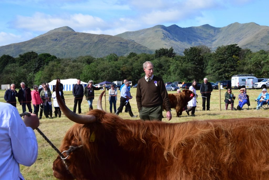 Judging the Highlands.