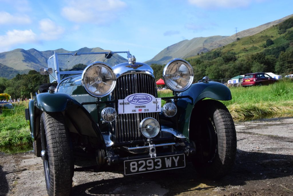 Classic cars were on display.