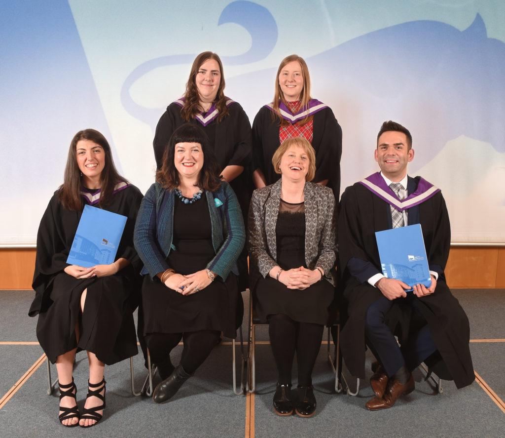BA (le Urram) Gàidhlig agus Foghlam.  NO F42 Gaelic College graduation 02