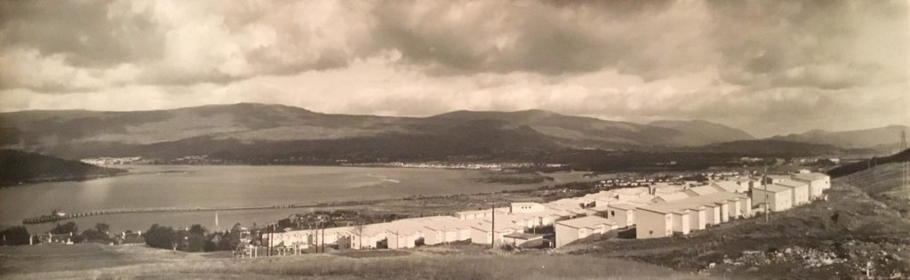Loch Linnhe from the Plantation. Photgraph: The Andy Paton Collection gifted to Lochaber Local History Society.  NO F45 Loch Linnhe from the Plantation
