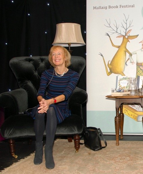 Also among the highlights was Scottish cookery and food writer, Sue Lawrence.  NO F46 MBF The great Sue Lawrence